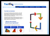 Tactix4 website screenshot
