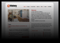 Walney site screenshot